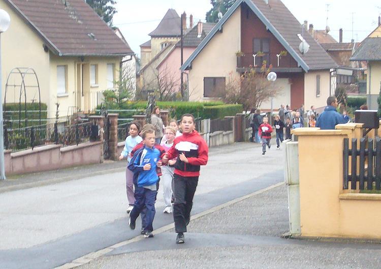 La rencontre d'endurance à Jungholtz – 16 Novembre 2010