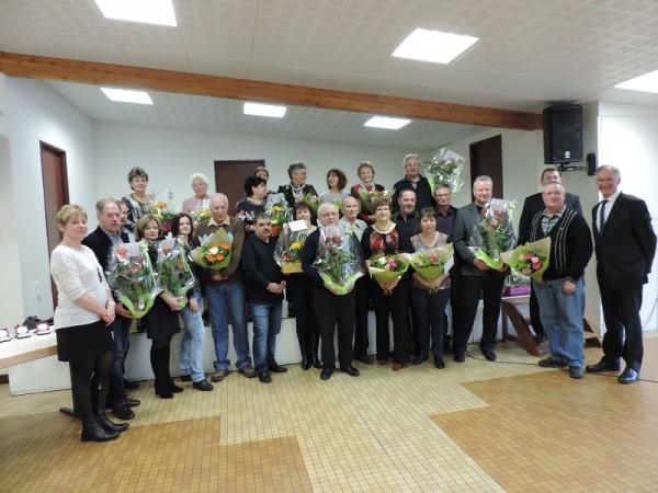 Les lauréats 2014 des maisons fleuries