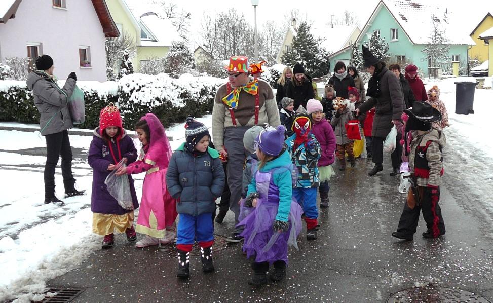 Carnaval des écoles, mardi gras – 12 Février 2013