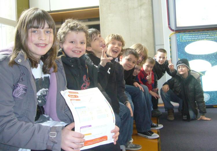 Sortie au musée Electropolis pour les CE2, CM1 et CM2 de l'école avec René Nöelle Dalcin. – 10 Mars 2011