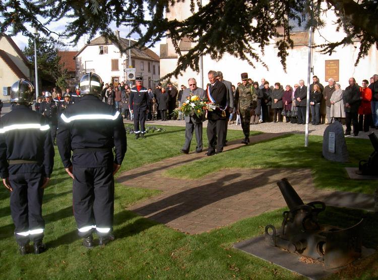 Cérémonie de commémoration – 11 novembre 2010