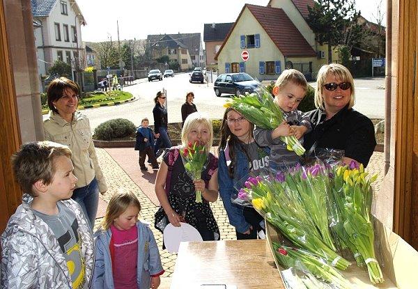 Opération tulipes – 3 Avril 2009