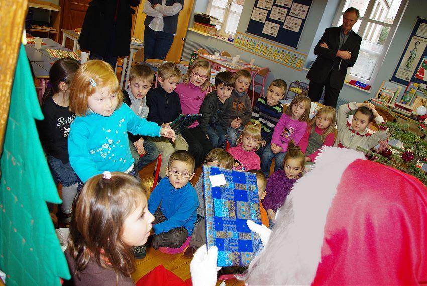 Visite du Père Noël – 17 Décembre 2009