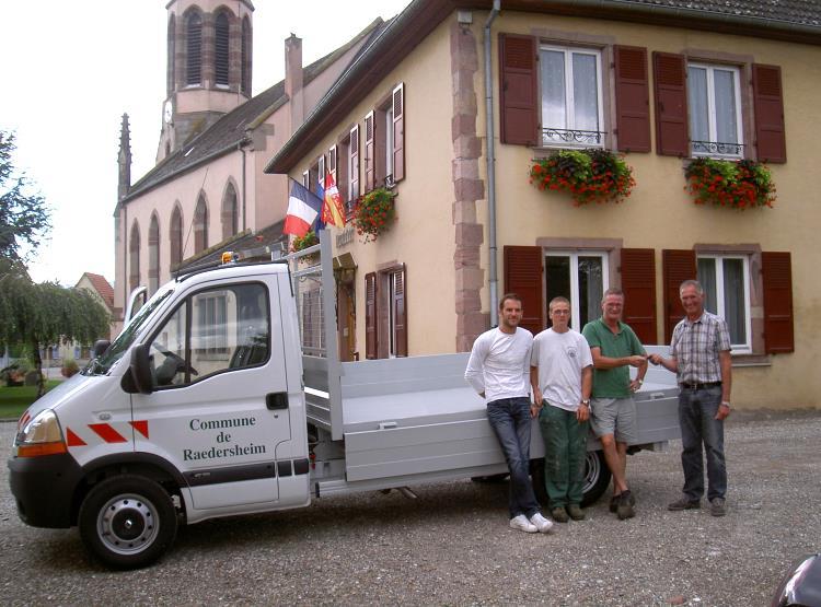 Livraison du nouveau camion – 29 Juillet 2010