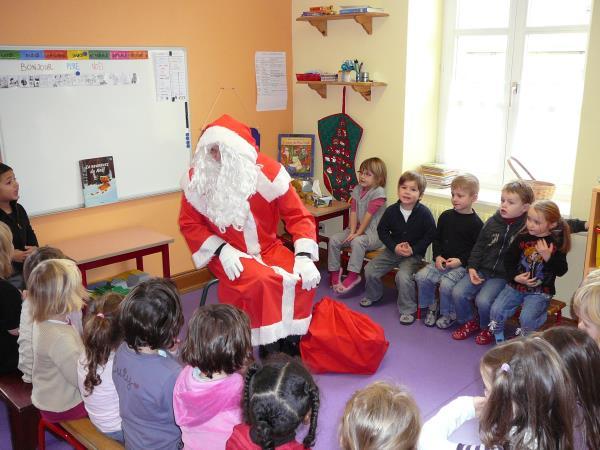 Le père Noël !!! – 16 Décembre 2010