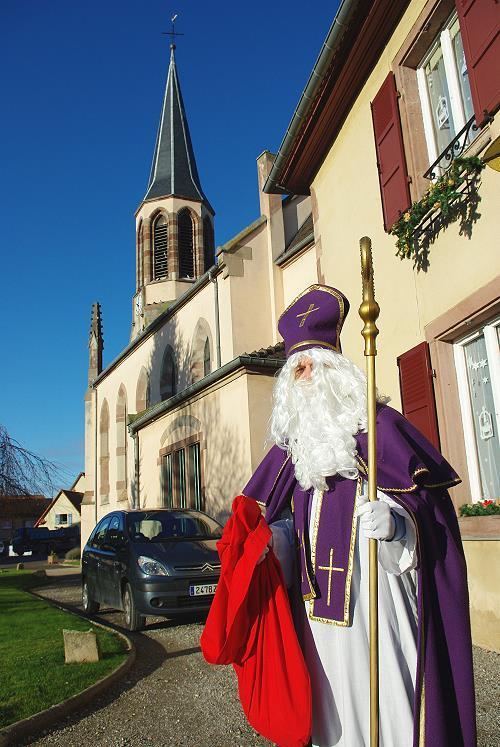 Visite de Saint Nicolas – 4 Décembre 2009