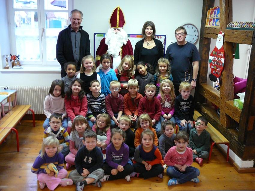 Saint Nicolas à l'école – 6 Décembre 2012
