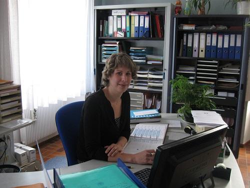 Une nouvelle secrétaire de mairie – 5 Mai 2014