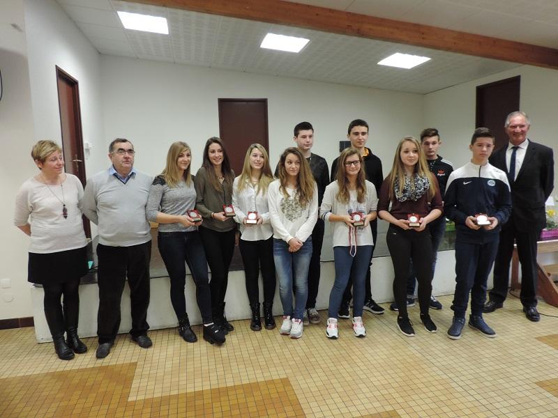 Les jeunes sportifs à l'honneur – 22 février 2015