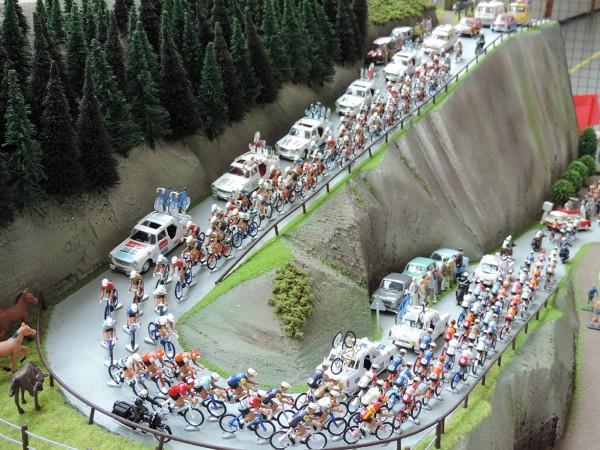 Maquette course cycliste