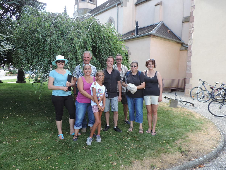Passage du jury pour le concours des maisons fleuries 2015 – 20 et 21 Juillet 2015