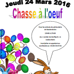 Chasse a l'oeuf