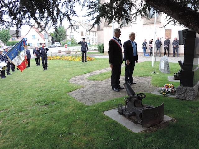 Commémoration du 72e anniversaire de la victoire du 8 mai 1945
