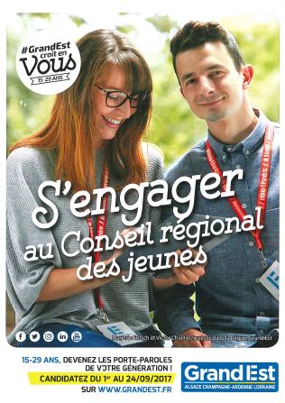 S'engager au Conseil régional des jeunes